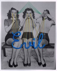 Mana Morimoto - Tokyo-based textile artist creates compositions by carefully arranging embroidery threads on pictures.