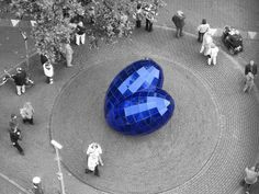 the blue heart of delft