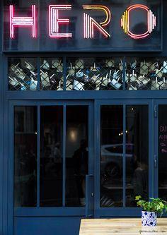 At Hero / Hero Restaurant, Paris / Garance Doré