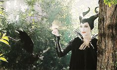 Maleficent & Diaval <3 THE FEELS! Angelina Jolie. Sam Riley.