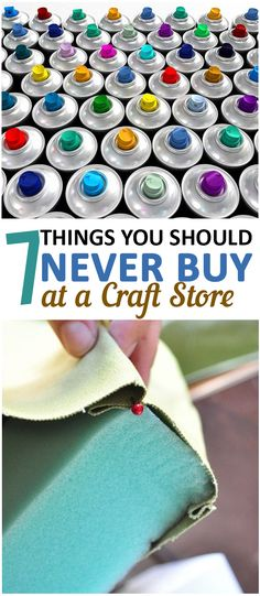 7 Things You Should Never Buy at a Craft Store