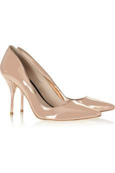 Sophia Webster Lola mirrored-leather pumps and other apparel, accessories and trends. Browse and shop 15 related looks. Metallic High Heels, Sophia Webster Shoes, Shoe Closet, Leather Pumps, Pump Shoes, Shoe Game, Stiletto Heels, Christian Louboutin, Discount Designer