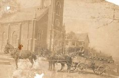 Very old picture of Saint Rose in New Lexington Ohio