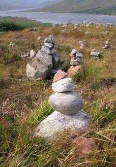 Scotland...rock cairns