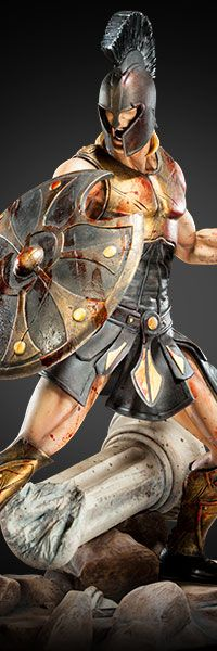 Sideshow Collectibles proudly presents the Achilles Battle Fury statue from ARH Studios. The legendary Greek warrior is armed for battle with an interchangeable Roman Warriors, Mythology Tattoos, Greek Warrior, Spartan Warrior, Greek And Roman Mythology, Armor Concept, Roman Art, Powerful Images, Alexander The Great