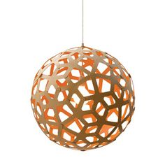 Fab.com | Sculptural Bamboo Pendant Lamps