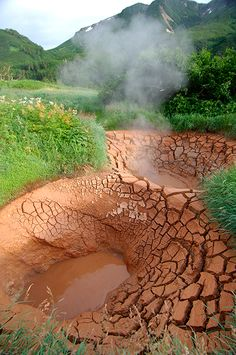 The Valley of Geysers in Russia s Kamchatka