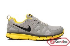 Nike Flex Trail  Wold Grey Speed Yellow  (538548-004)