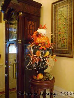 1 Fall Topiaries, Topiary, Fall Decorating, Southern Living, Autumn, Halloween, Design, Home Decor, Decoration Home