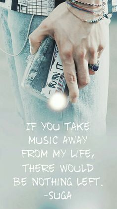 I'm not a musician but same. My whole life is built upon music
