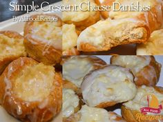This delicious cream cheese breakfast Danish is so simple and takes only about 5 minutes to whip up. Why? Because it is made with Crescent dough, and tastes just like a delicious danish from a bakery. Give these a try, they will be a hit! Perfect for a Christmas breakfast, coffee with friends, or a bridal or baby shower. This recipe would also be fantastic with a little cherry pie filling, lemon curd, or raspberry jam in addition to the cream cheese. If you are short on time like me, then…