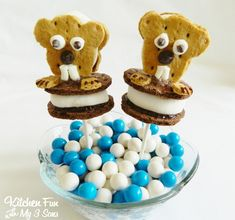 Kitchen Fun With My 3 Sons: Groundhog Day S'mores Pops
