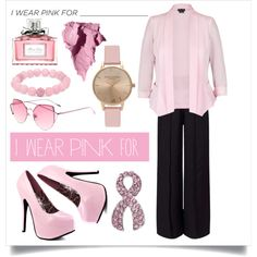 How To Wear I wear pink for autumn Outfit Idea 2017 - Fashion Trends Ready To Wear For Plus Size, Curvy Women Over 20, 30, 40, 50