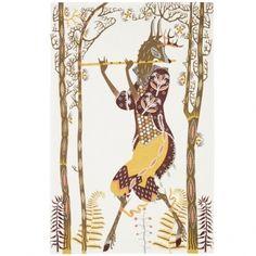 How wonderful is this print?!  Tanssi tea towel | Klaus Haapaniemi for Iittala