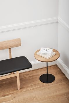 The Pal Table by Keiji Takeuchi is there whenever you need it. It's a small, occasional table that's movable and easy to access. #fredericiafurniture #kenijitakeuchi #interiordesign #furnituredesign Floor Chair, Coffee Tables, Stools, Your Space, A Table, Furniture Design, Chairs, Minimalist, Interior Design