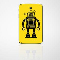 "EasyCover ""Retro Robot"" für dein Tablet #tabletfolie #robot #retro #samsung #creatisto"