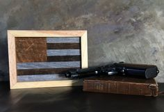 Reclaimed Barnwood American Flag by RusticRebelCreations on Etsy