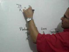 Regla de Tres Simple Directa Problema 1: Julio Rios resuelve un problema usando la Regla de Tres Simple Directa.