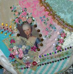 lady's portrait with a fan