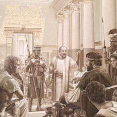 El apóstol Pablo apelando a César