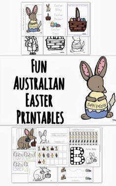 All Australian Easter Bilby Printable Pack