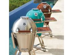 Caliber Thermashell Pro Charcoal Grill. I'll take the Tiffany blue one please!