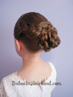 Braid & Knotted Bun Updo from BabesInHairland.com (15)