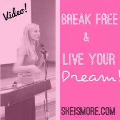In this video, Kristen Dalton speaks on how knowing your identity releases you into full freedom to realize your biggest dreams! And reveals some of the things that has held her back…
