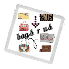 """""""we got the bag 4 you"""" by jedski ❤ liked on Polyvore featuring Polaroid, Valentino, Vera Bradley, Dolce&Gabbana and Gucci"""