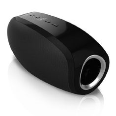 Damson Oyster Bluetooth Speaker  Black * For more information, visit image link.