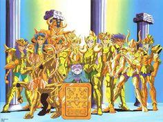 Gold Saints - Saint Seiya