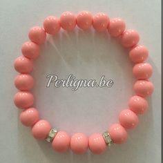 Armband Ella - paparacha roze