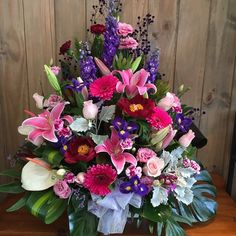 You cannot beat the colours of nature designed by Twigs Florist Varsity Lakes Corporate Flowers, Lakes, Flower Arrangements, Floral Wreath, Colours, Wreaths, Instagram Posts, Nature, Design