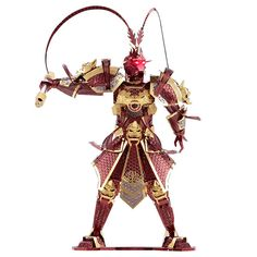 Piececool 3D Metal Puzzle The Monkey King Wukong Models DIY Laser Cut Jigsaw Toy #Piececool