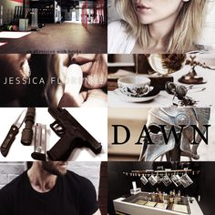 Dawn (Hero Society #1) by Jessica Florence