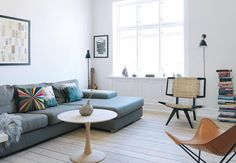 Et boheme-hjem med finurlig kunst - Bolig Magasinet