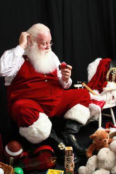 A Real Bearded Santa!