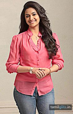 Keerthi Suresh aka Keerthy Suresh is an actress in the South Indian film industries. Keerthy was a child actress in the . Beautiful Girl Indian, Beautiful Girl Image, Most Beautiful Indian Actress, Beautiful Actresses, Beautiful Women, Girl Fashion Style, Women's Fashion, Fashion Ideas, Fashion 2018