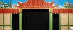Backdrop  074D Oriental Palace Portal