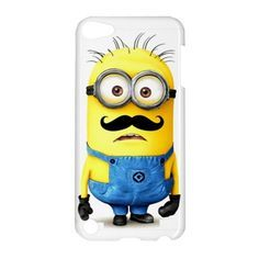 Despicable me minions with cute mustache Ipod Touch 5 CASE | best stuff