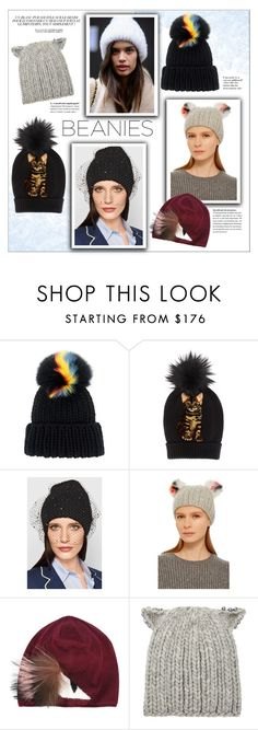 """Bad Hair Day: Beanies"" by emilyde83 ❤ liked on Polyvore featuring Eugenia Kim, Dolce&Gabbana, Fendi, Ex Voto Paris, Winter, dolceandgabbana, fendi, beanies and eugeniakim"