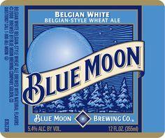 Blue Moon Belgian White.  True beer lovers like to trash Blue Moon, but I like it.