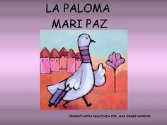 La paloma mari paz Peace Crafts, International Day Of Peace, Becoming A Teacher, Preschool Learning Activities, School Projects, Kindergarten, Religion, Books, Children