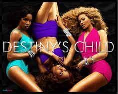 Destiny's Child R'B, soul, hip hop, pop, Girl group Beyonce Knowles, Kelly Rowland