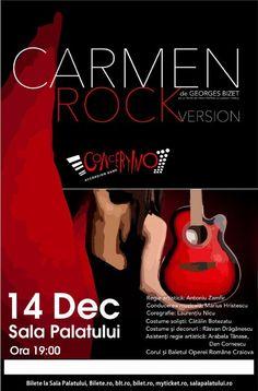 Carmen - Rock Version 14 Dec 2016 Dec 2016, Nicu, Movies, Movie Posters, Colour, 2016 Movies, Film Poster, Films, Film