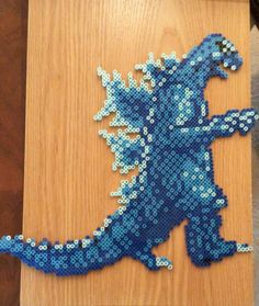 Godzilla NES Bead Sprite by NerdustrialDesigns on Etsy