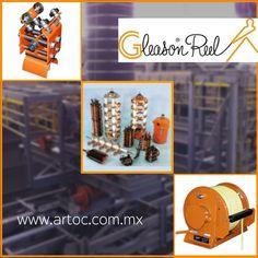 Sistemas Festoon   Anilos Rozantes   Carrete industrial marca: Gleason Reel en Mexico.  ARTOC Representante de la marca en Monterrey para todo México. Tel. (81) 8057-0871   www.artoc.com.mx