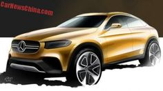 Mercedes-Benz GLC Coupe will debut on the Shanghai Auto Show +http://brml.co/1CV3uYQ