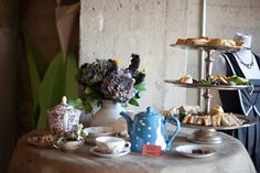 Table inspiration from our Mod Hatter Tea Party.