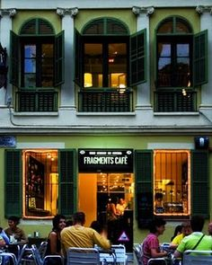 Fragments cafè, Plaça Concòrdia, Barcelona